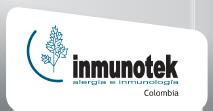 Bienvenidos a Inmunotek Colombia Logotipo